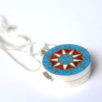 Star Baha'i locket